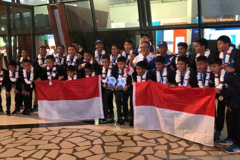Timnas U-12 raih posisi keempat Piala Dunia Danone 2019