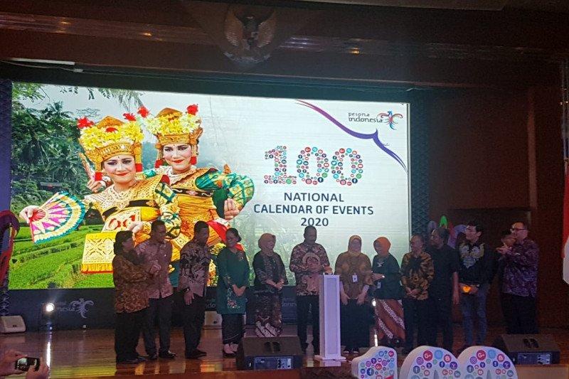 Calendar Of Event pariwisata 2020 tawarkan 100 atraksi wisata