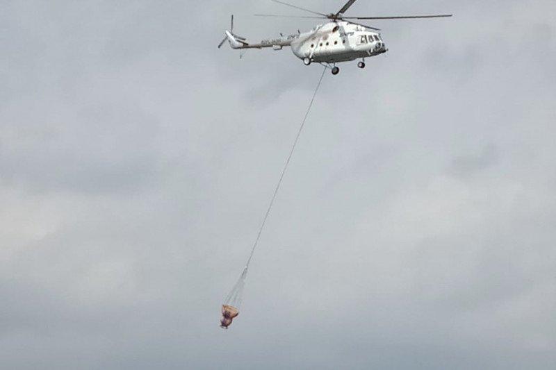 BNPB masih siagakan helikopter pengebom air
