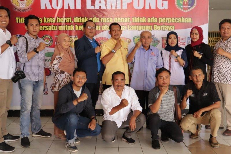 Wartawan olahraga Lampung dukung prestasi atlet Porwil