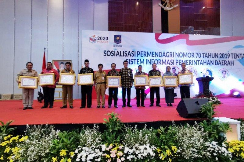 Kemendagri anugerahi Pemkot Makassar penghargaan implementasi SIPD