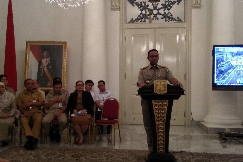 Anies sebut transportasi Jakarta banyak pengembangan