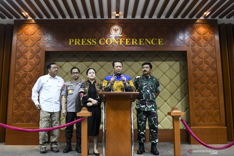 Seluruh mantan presiden hadiri pelantikan Jokowi-Ma'ruf