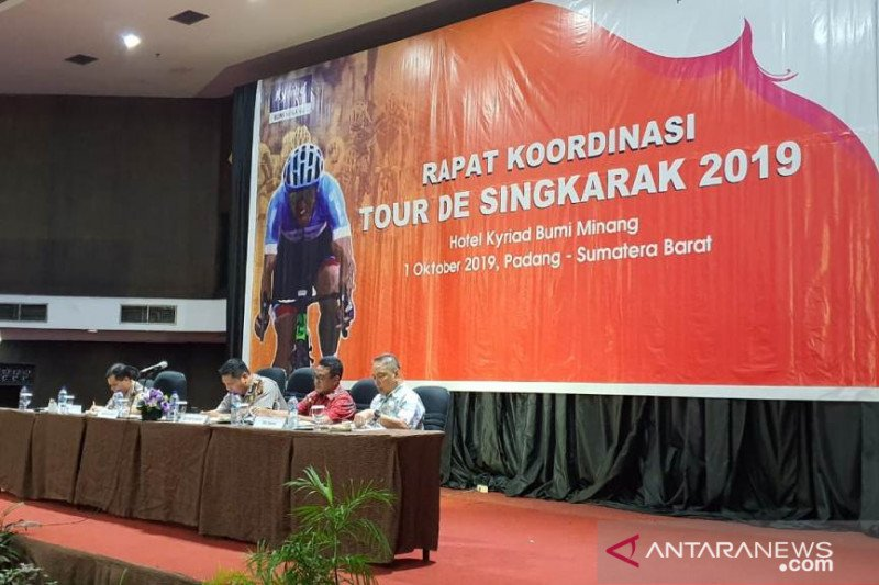 Meriahkan TdS 2019, Pemkab Solok gelar fun bike