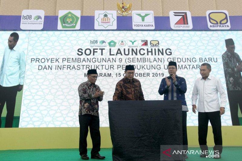 Menag meresmikan kampus UIN Mataram senilai Rp300 miliar