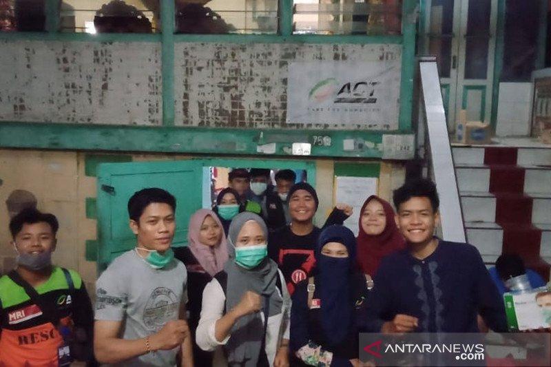 ACT Sumsel respons cepat korban kebakaran  62 rumah di Palembang
