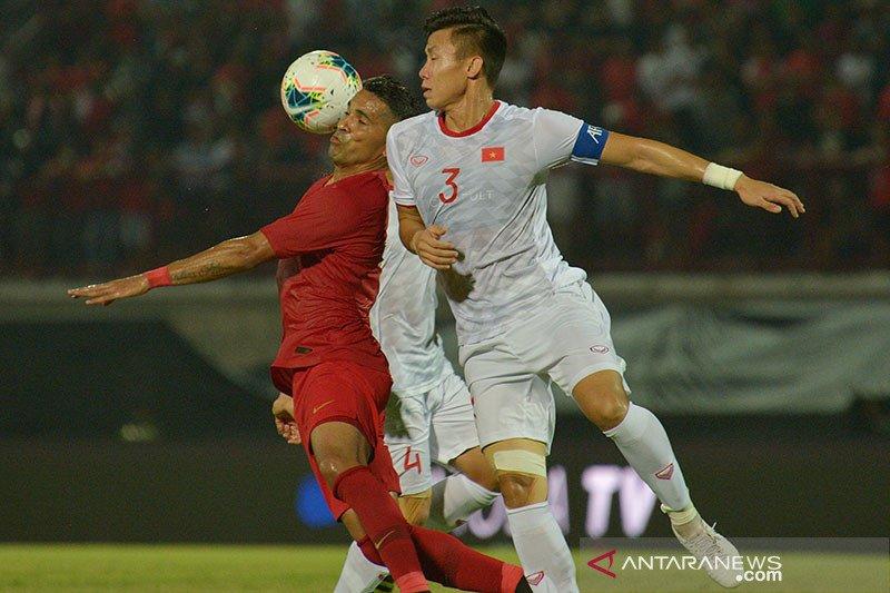 Timnas Indonesia kalah lagi, skor 1-3 lawan Vietnam