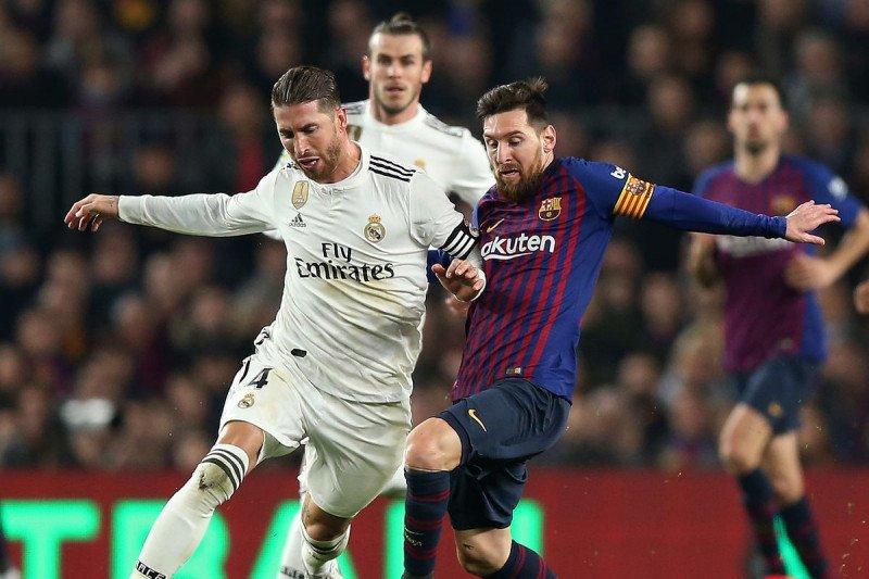 Liga Spanyol -- La Liga ingin pindahkan El Clasico dari Barcelona ke Madrid