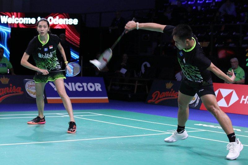 Hafiz/Gloria lolos ke babak kedua Denmark Open