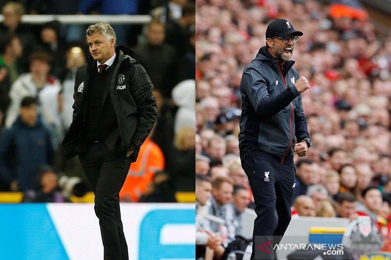 MU versus Liverpool, rivalitas lama terpaut 15 poin