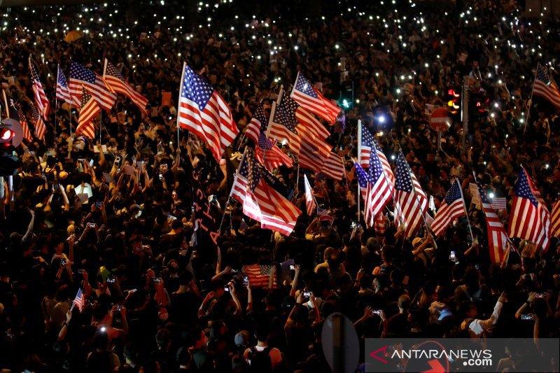 "AS mengecam  ""penggunaan kekuatan seenaknya' di Hong Kong"