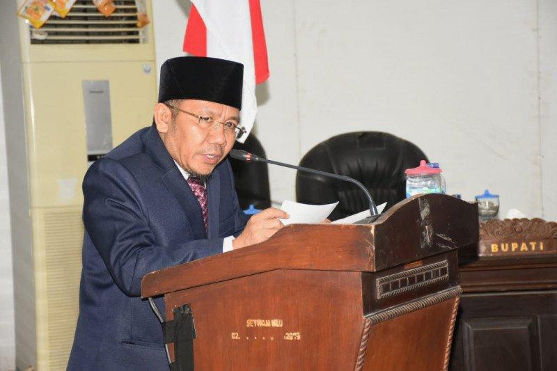 Bupati Lombok Utara Sampaikan Nota KUA PPAS APBD 2020