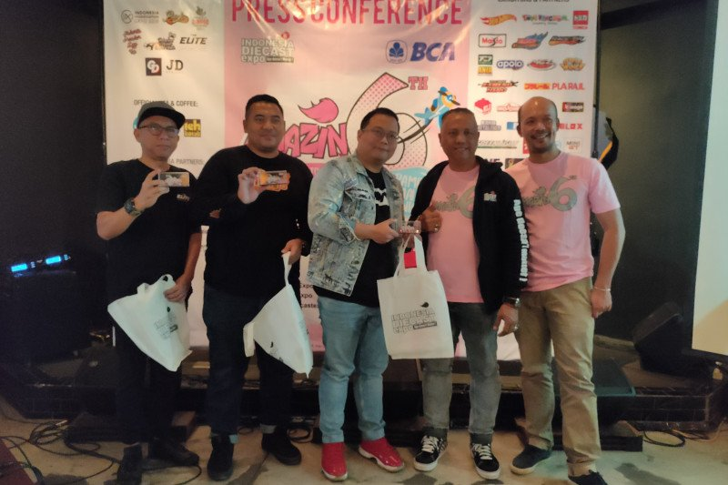 Bukan cuma pria, Indonesia Diecast Expo targetkan
