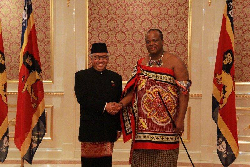 Raja Mswati III akan hadiri pelantikan Presiden Jokowi
