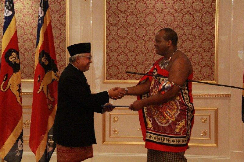 Raja Eswatini targetkan peningkatan kerja sama dengan Indonesia