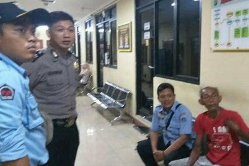 Polisi: pemilik tas di depan gereja diduga gangguan jiwa