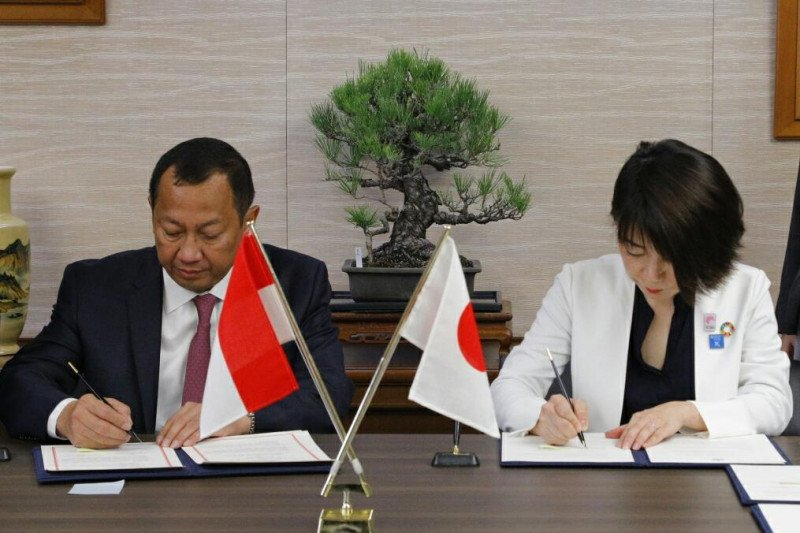 Kemenkumham-Kementerian Kehakiman Jepang kerja sama bidang hukum