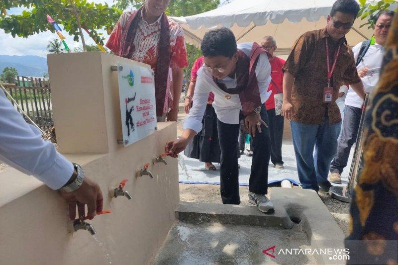 12 desa di Sigi dapat bantuan air bersih Mercy Corps Indonesia