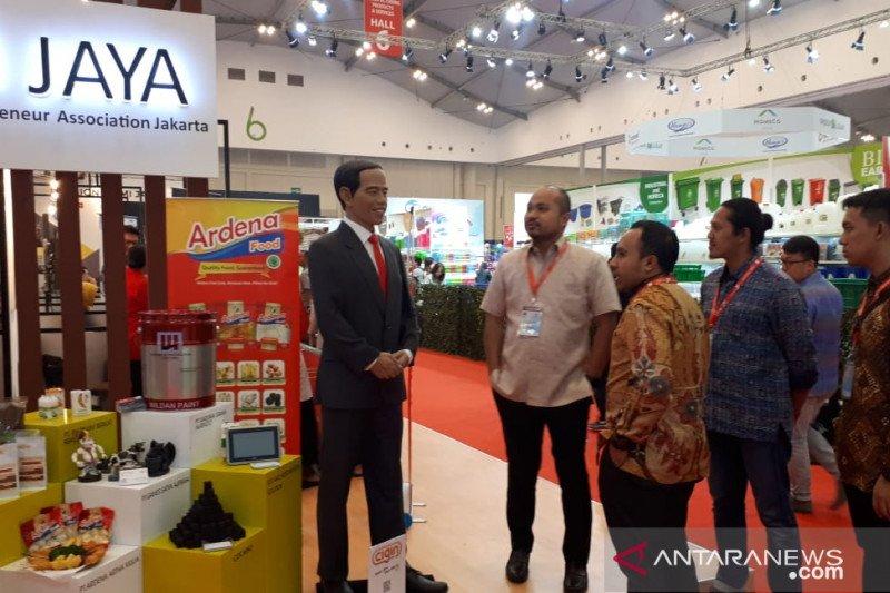 HIPMI Jaya jajakkan produk unggulan di Trade Expo Indonesia 2019