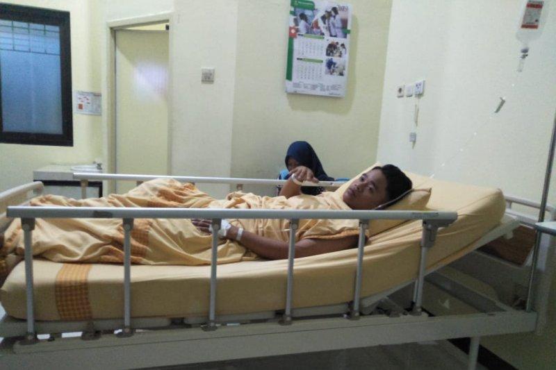Dua aktivis  mahasiswa dirawat di RS usai demo ricuh di Jember mulai membaik