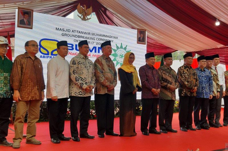 Muhammadiyah bangun masjid pencerah umat