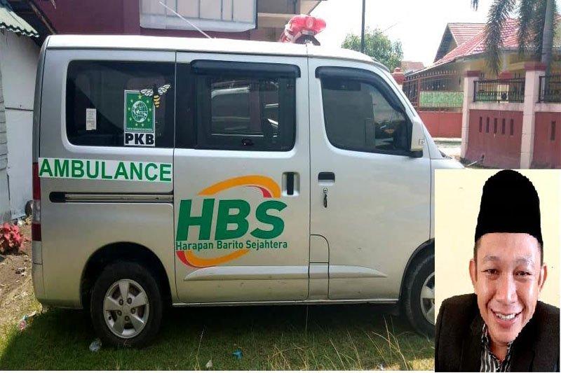 Anggota DPRD ini gadaikan gaji demi membeli ambulans