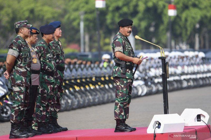 Security tightened prior to swearing in of President Joko Widodo