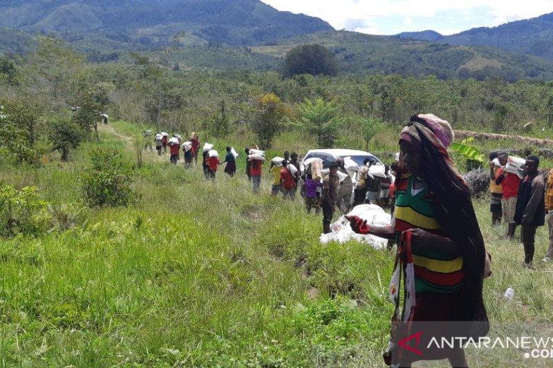 Bantuan Kemensos untuk Nduga capai Rp4,9 miliar