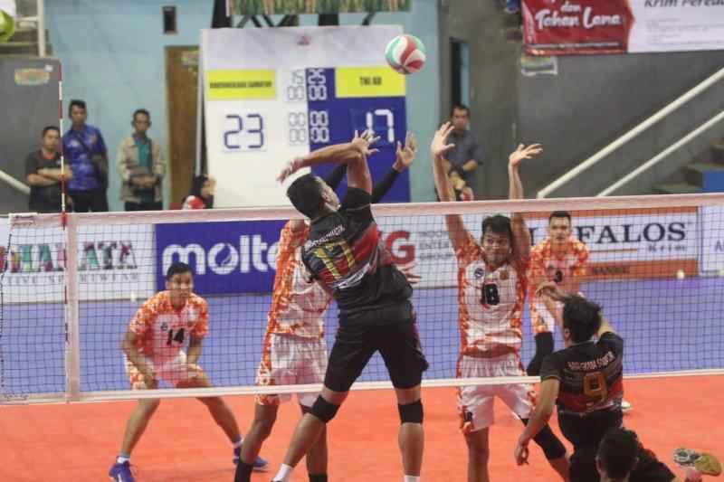 Bhayangkara Samator dan Berlian melenggang ke semifinal Livoli Divisi Utama