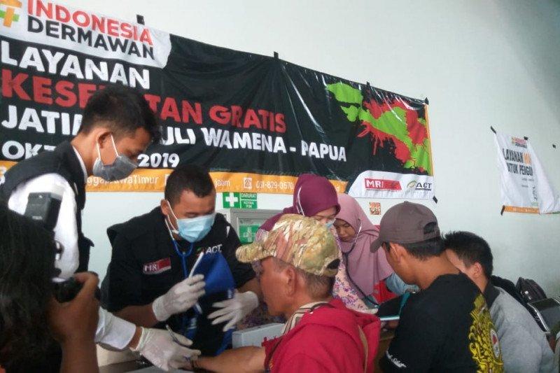 ACT Jatim berikan layanan kesehatan bagi pengungsi Wamena
