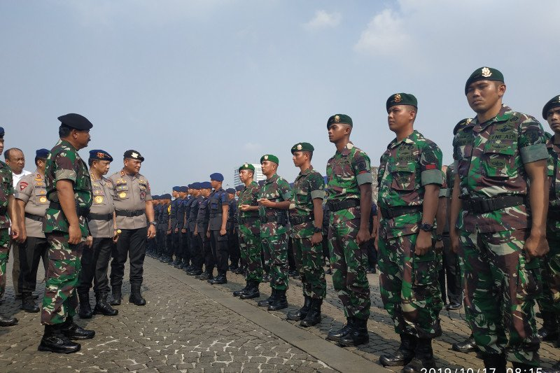 Panglima TNI : Pengamanan pelantikan Presiden dimulai hari ini