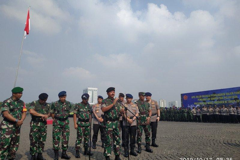 TNI-Polri pertebal pengamanan bandara, PLN dan Pertamina