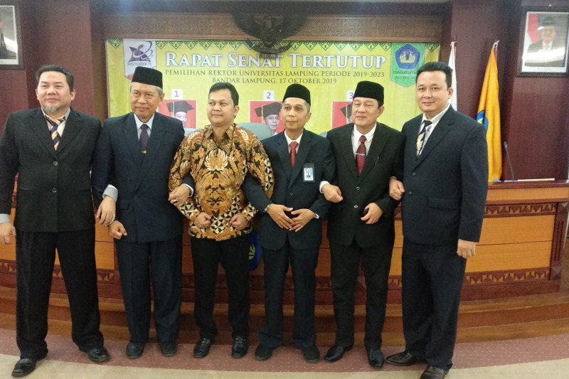 Dua calon rektor Unila hormati hasil pemilihan