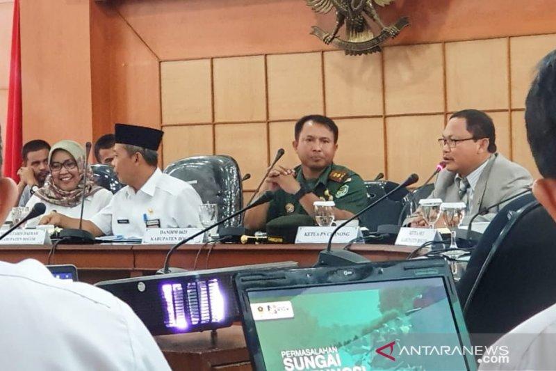 Bupati Bogor akan kenakan pencemar Sungai Cileungsi hukuman lebih berat