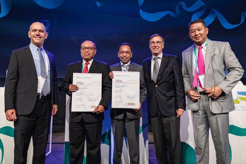 BPJSTK raih dua penghargaan Certificate of Excellence