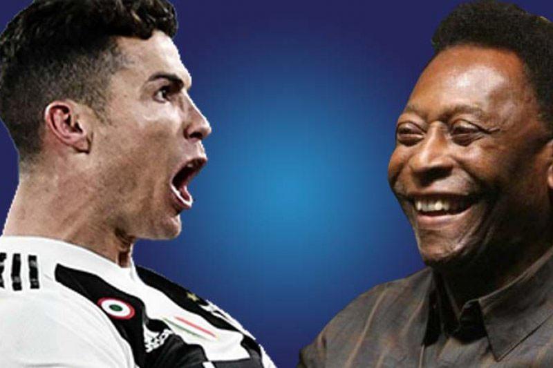 Cristiano Ronaldo atau Pele pemain terhebat sepanjang masa?