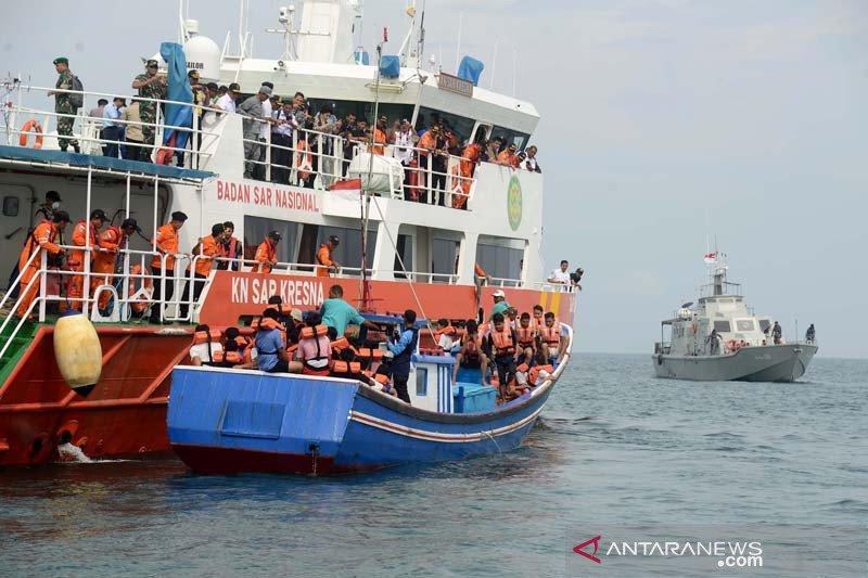 SAR Aceh gelar simulasi penyelamatan warga negara asing