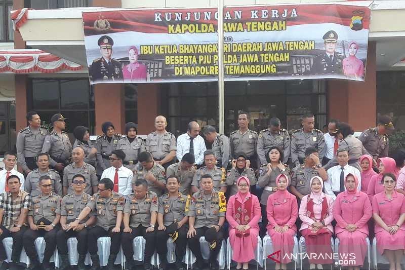 Kapolda Jateng: Jaga kamtibmas jelang pelantikan presiden