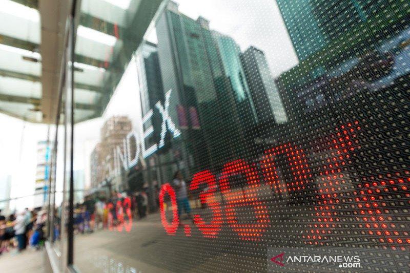 Bursa saham Hong Kong berakhir 0,69 persen lebih tinggi