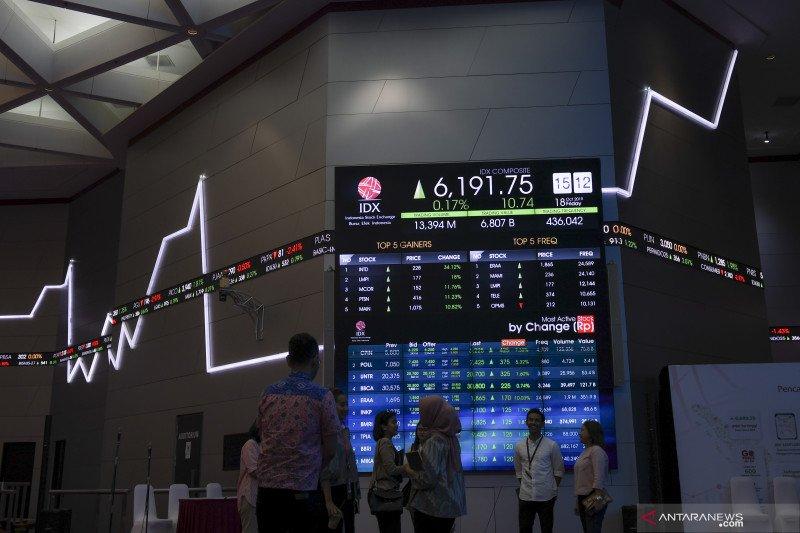 IHSG bergerak pada dua arah pada sesi awal perdagangan