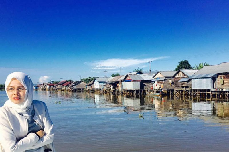 Galuh Tantri Narindra, Srikandi penyelamat Sungai Martapura