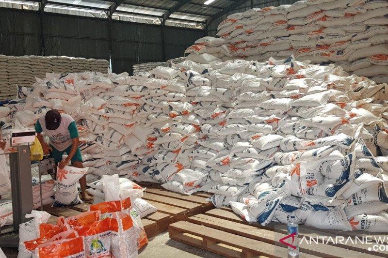 Stok beras Kampar 2.000 ton aman pascabanjir Rohul