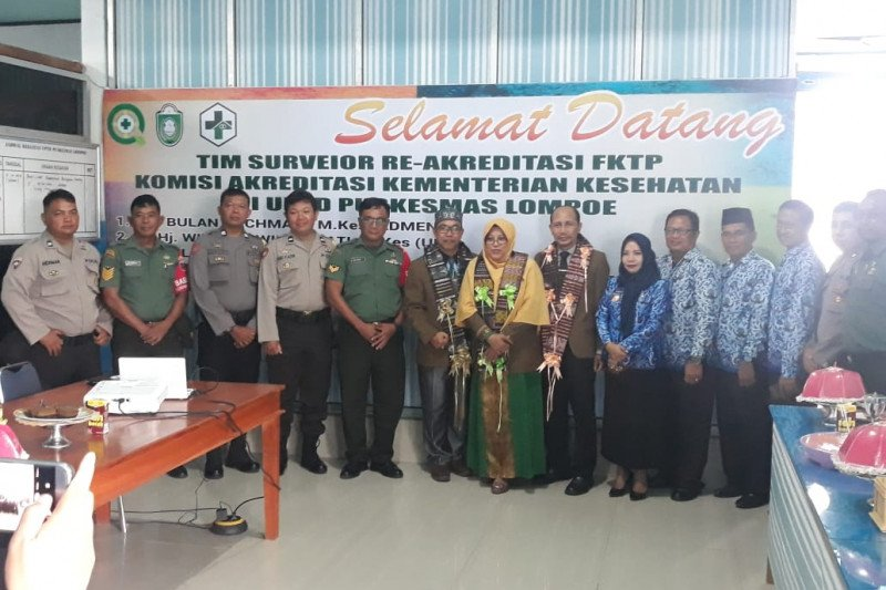 Komisi akreditasi Kemenkes survei Puskesmas Lompoe Kota Parepare