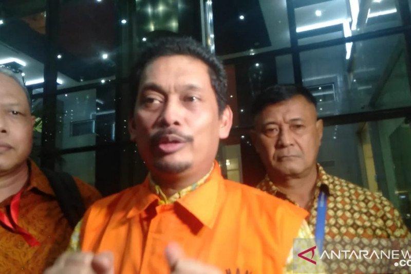 KPK tahan Dirut PT INTI Darman Mappangara tersangka suap