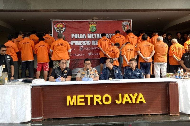Polisi tangkap 22 orang rencanakan kerusuhan pelantikan presiden