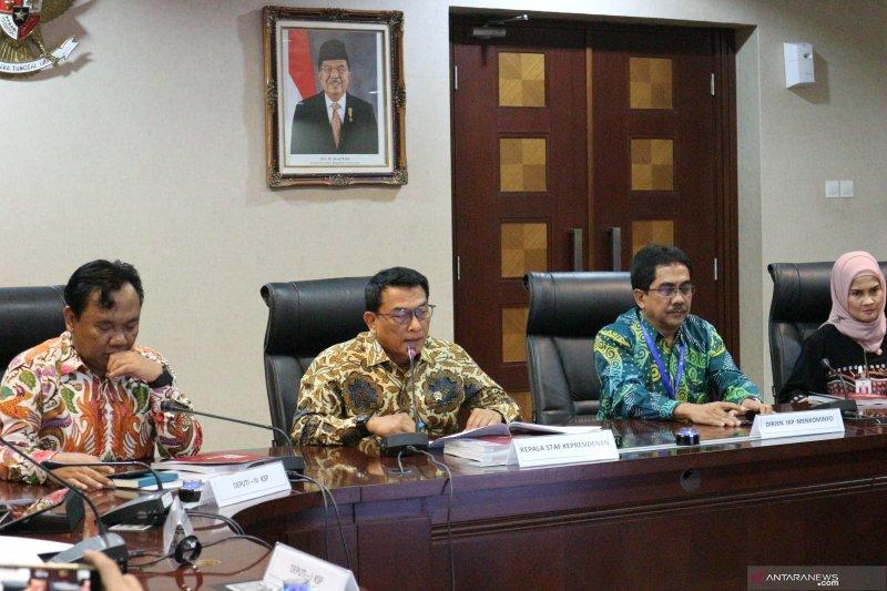 Moeldoko: Istana akan cek perkembangan kasus Novel Baswedan