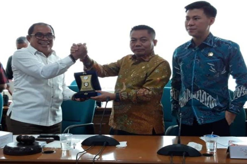 Perkuat tupoksi pimpinan, DPRD Kalteng kaji banding ke DPRD DKI Jakarta
