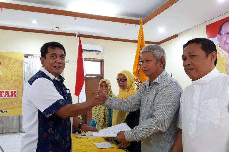 Hasanuddin Atjo sambangi DPD Golkar daftar sebagai calon Gubernur Sulteng