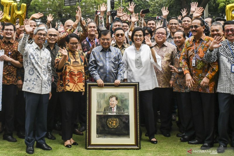 Jusuf Kalla sebut selalu menarik bekerja bersama Jokowi