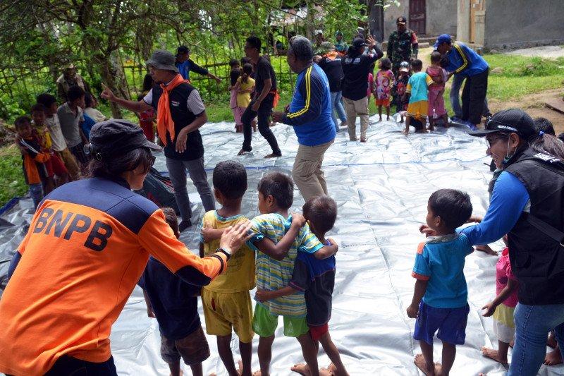 Karya bakti di lokasi terdampak gempa Maluku mulai dilaksanakan